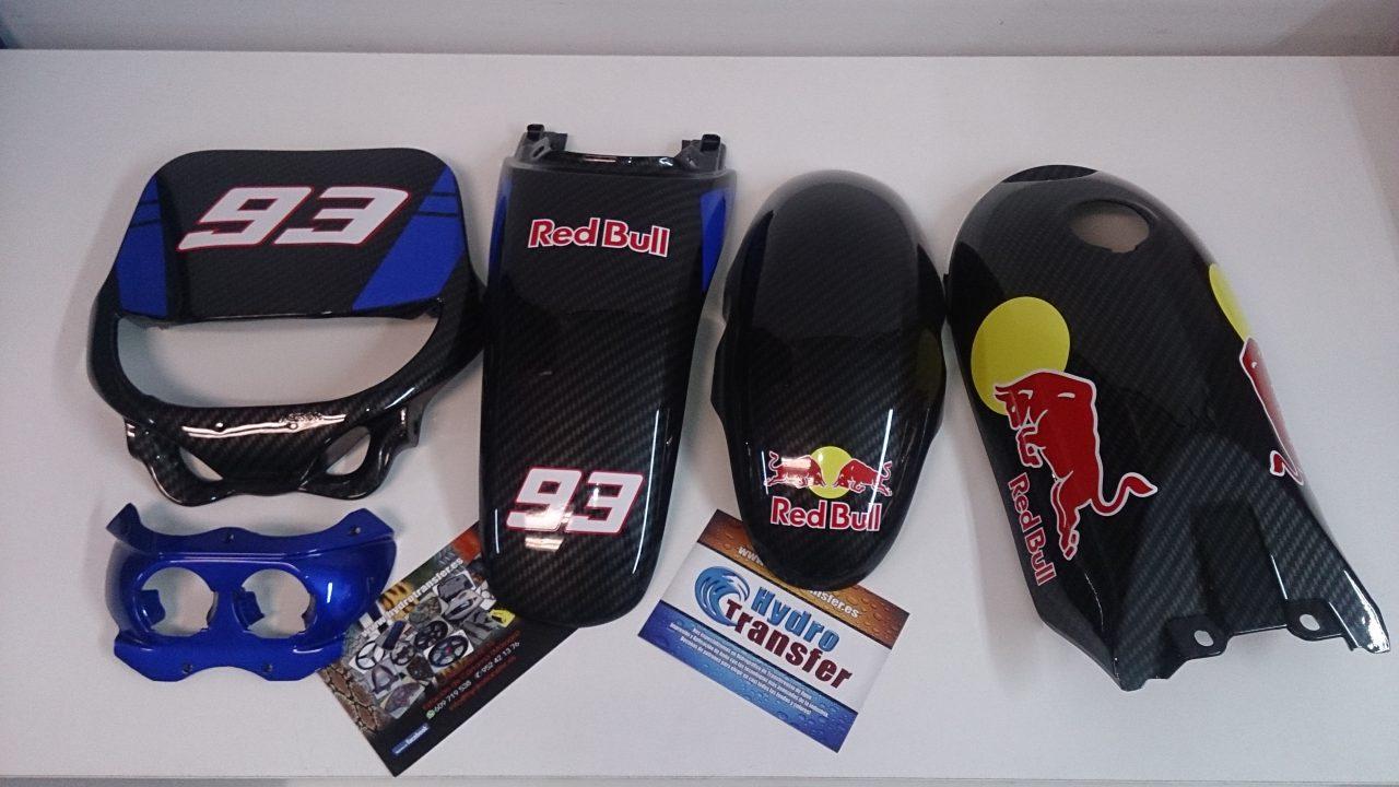 piezas moto competicion