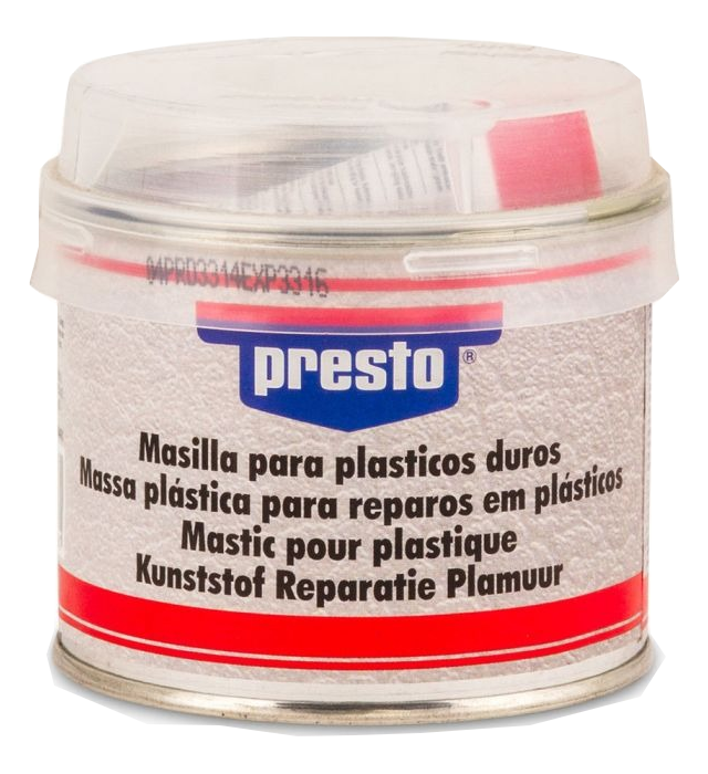masilla para plásticos duros